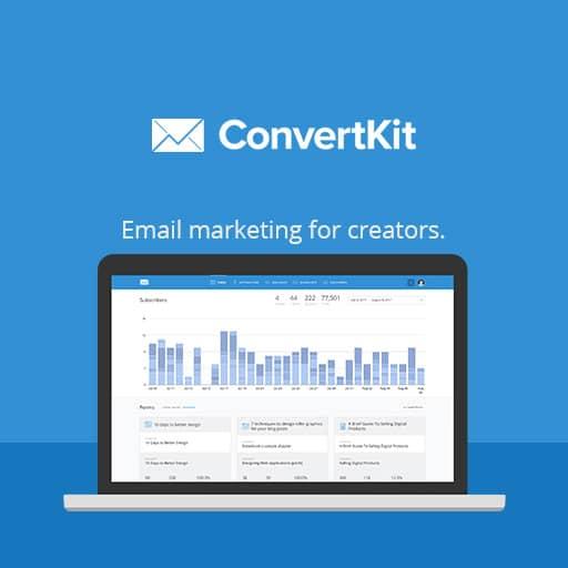 ConvertKit email marketing software