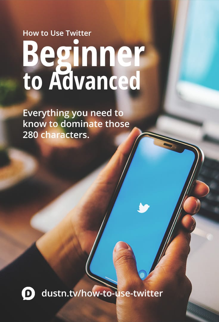 Learn how to use Twitter whether you're just starting out or you want to know the advanced tactics and strategy to take it to the next level. All in the one, super easy guide. #socialmedia #twitter #socialmediamarketing #socialmediatips