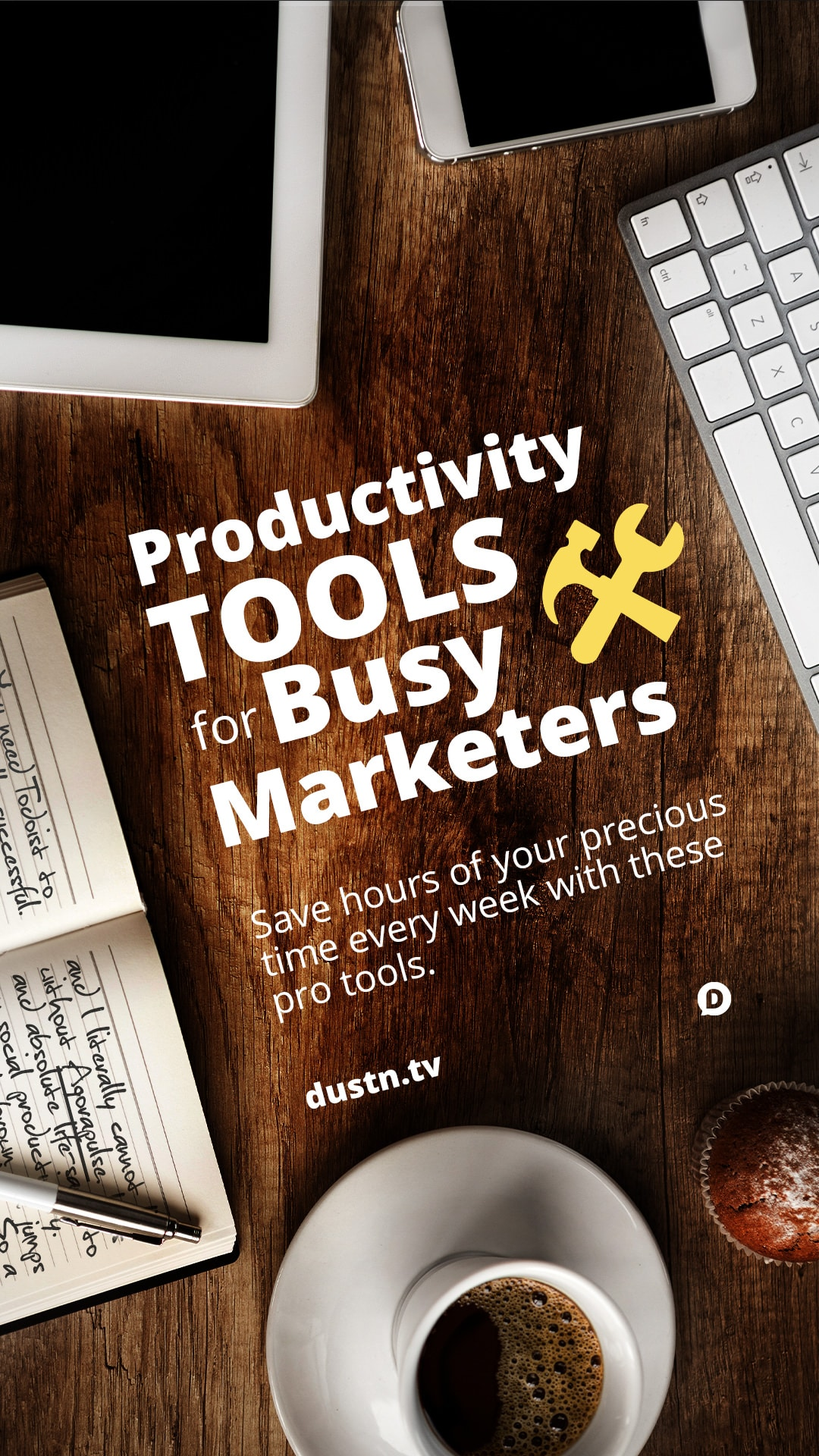 Get the most productivity out of your day if you're a marketer with these professional grade tools. The best news is, they won't break your budget! #marketing #productivity #socialmedia #apps