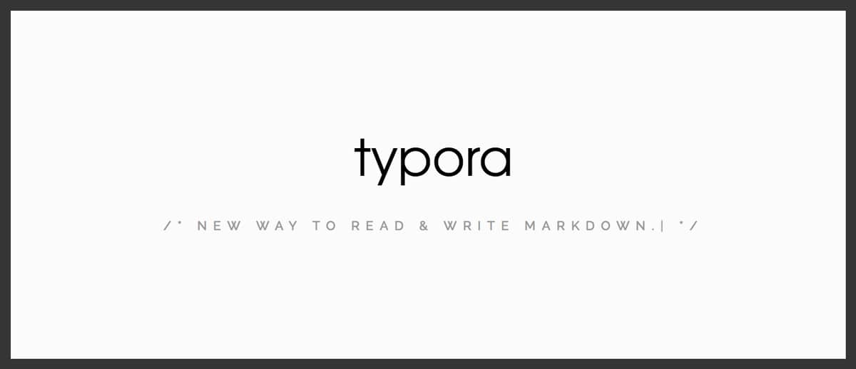 typora homepage screenshot