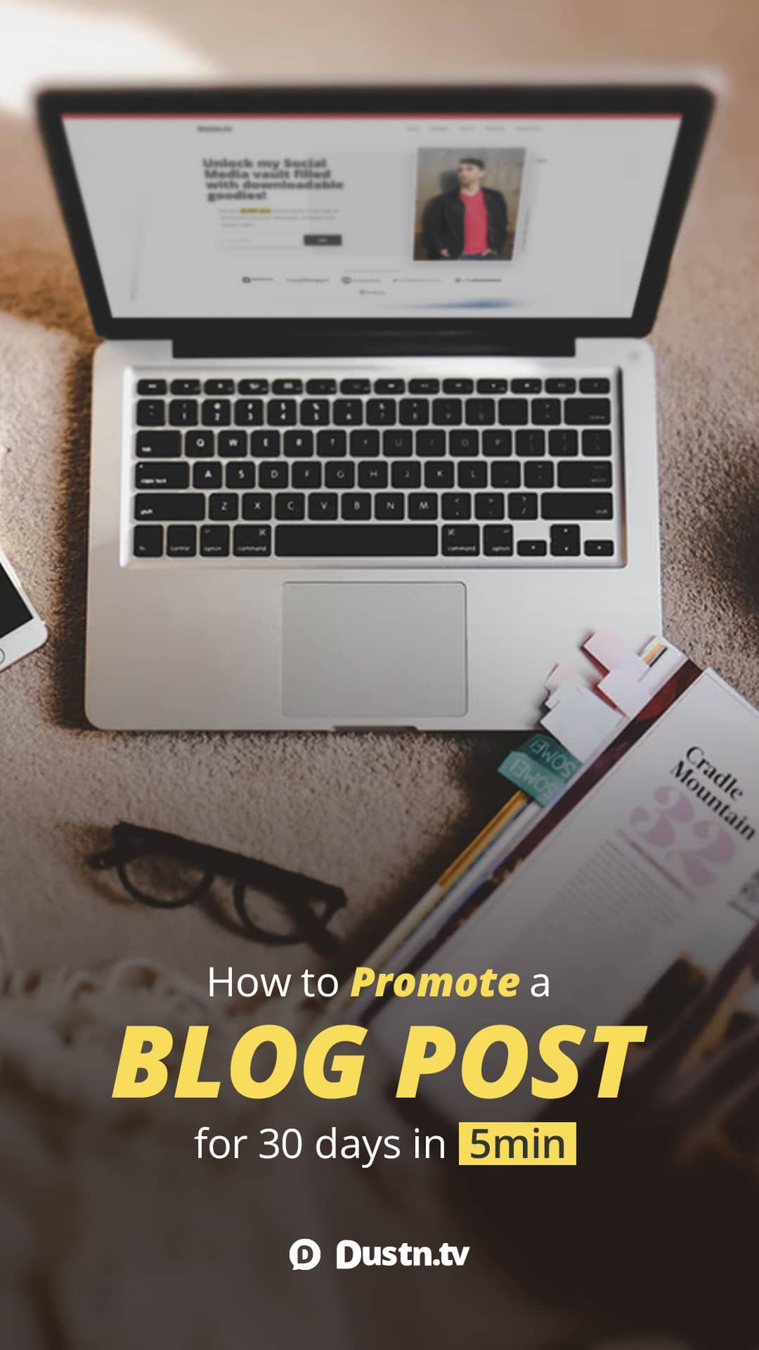 It can be a daunting task to promote your latest blog post across all your social media networks. With this easy to use template, you can do it in 5 minutes or less.