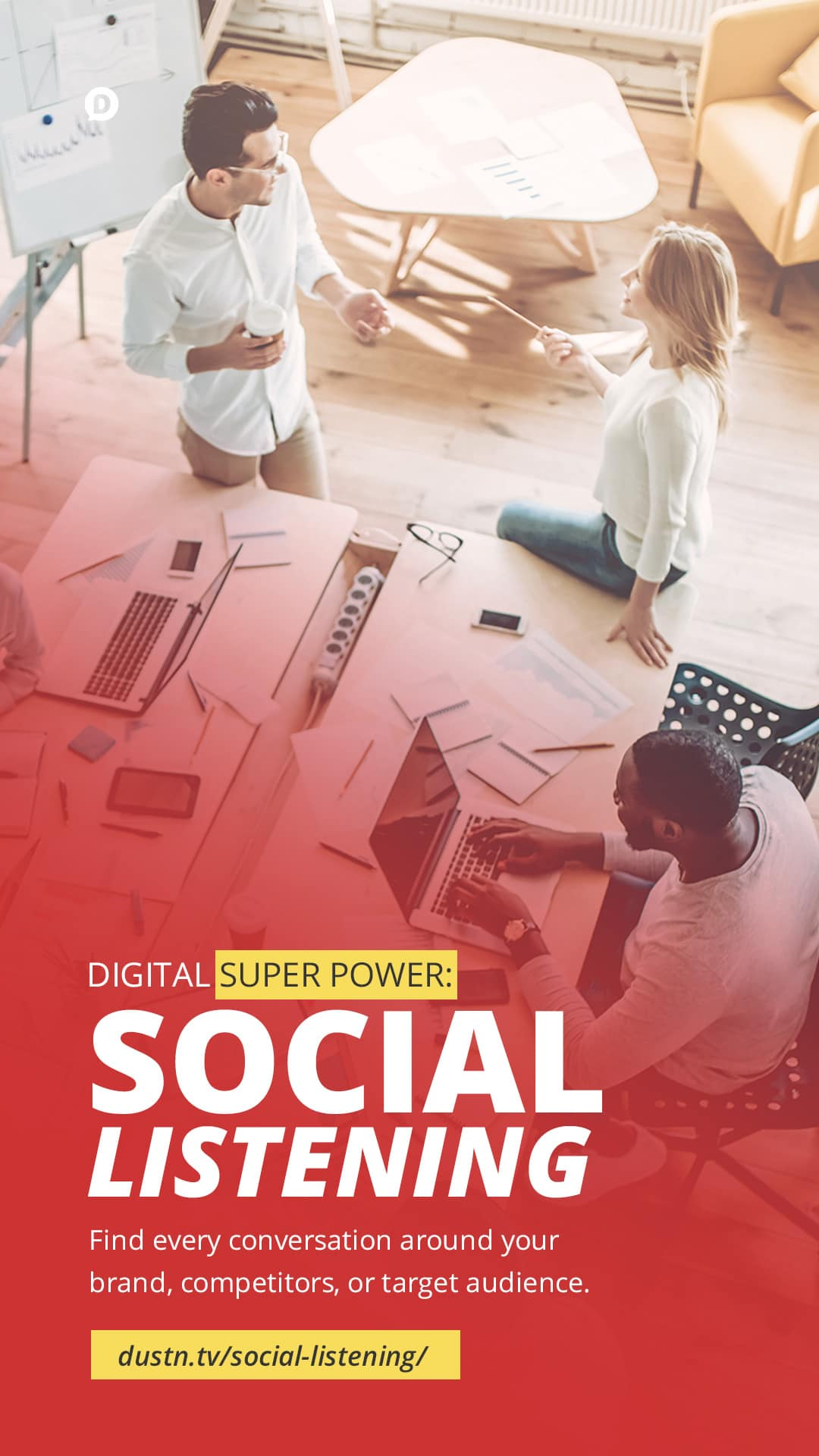 There are conversations happening online about you and your business. Social Listening is like having Superman-like hearing for those online conversations. Smart bloggers and marketers know how to leverage social listening for growing their brand, and keeping an eye on the competition. #marketing #contentmarketing #socialmediamarketing #business